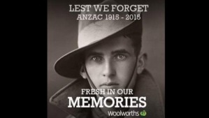 Woolworths the Anzac day fail